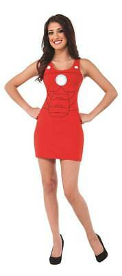 MARVEL IRON MAN ladies TANK DRESS small  RUBIES COSTUMES COMPANY  - Party Co Costumes