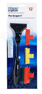 """Pro Scraper II 12"""" Kent Marine Glass/Acrylic Aquarium Algae Cleaner Blade Scrape"""