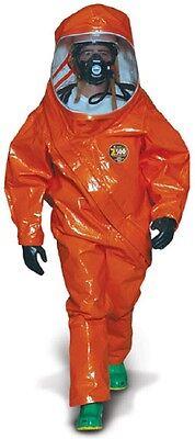 Kappler Z5h552 Lgxl Level A Fully Encapsulated Hazmat Suit-orange