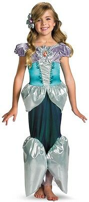Disney Little Mermaid Ariel Costume Princess Fancy Dress Toddler Childs - Little Mermaid Toddler Costume