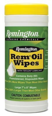 "Remington Accessories 18384 Rem Oil Pop Up Wipes Gun Cleaning Wipes 7""x8"""