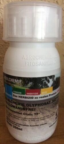 Glyphosat 360 TF 250ml Total Herbizid Glyfosat Unkraut Kleingarten Privatmann | eBay