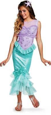 Disney Ariel Princess Little Mermaid - Dress Up Child Halloween Costume  Med 7-8](Mermaid Halloween Costume Baby)
