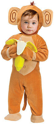 Baby Jungen Mädchen Affe Tier Halloween Zirkus Kostüm Kleid Outfit (Baby Mädchen Affe Kostüm)