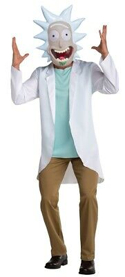 Mad Scientist Rick Adult Costume Mens Teen Adult - Rick Halloween Kostüm