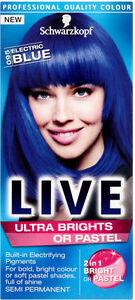 Schwarzkopf Live Color XXL Ultra Brights Semi-Permanent Colour 95 Electric Blue