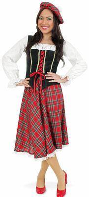 Misses Scott Schotten Kostüm für Damen NEU - Damen Karneval Fasching - Scott Kostüm