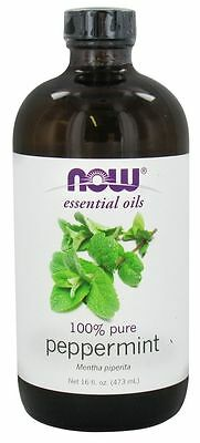 Now Foods Peppermint Oil 16oz 2 Pack