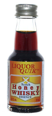 (Liquor Quik Natural Whiskey/Bourbon Essence 20 mL (Scotch Honey Whisky))