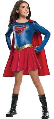Mädchen TV Supergirl Powerfrau Superheld Buch Tag Woche Verkleidung Kleid Kostüm ()