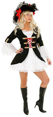 Seemannsbraut Piratin Damenkostüm NEU - Damen Karneval Fasching Verkleidung Kost (Damen Seemann Kostüme)