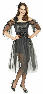 Black Fairy Fee Kostümkleid Schwarzer Engel für Damen - Engel Kostüme Für Damen
