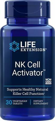 LIFE EXTENSION NK Cell Activator™  30 vegetarian tab  NEW- SEALED