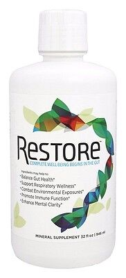 Restore For Gut Health 32 Oz  Immune  Digestion  Respiratory Support 1 Mo Supply