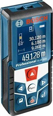 Bosch Glm500 Laser Distance Measurer Meter 164 Feet 50 Meters 3165140902526