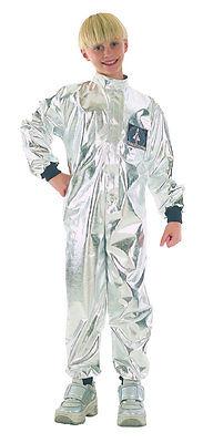 Astronaut Silverstar Kinderkostüm NEU - Jungen Karneval Fasching Verkleidung Kos ()