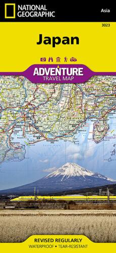 Japan Adventure Travel Map National Geographic Waterproof