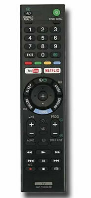 Genuine Original Sony Bravia TV RMT-TX300E Voice Remote Control Netflix Youtube