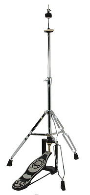 DRUM HI-HAT CYMBAL STAND DOUBLE BRACED CHROME High Hat on Rummage