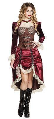 Lady Steampunk Damen Kostüm viktorianisches Kleid Damenkostüm Verkleidung ()