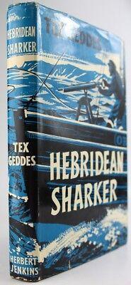 HEBRIDEAN SHARKER:BASKING SHARK HUNTER-HEBRIDES-SOAY*HIGHLANDS*FISHING*SCOTTISH