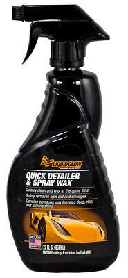 Quick Detailer & Spray Wax 22oz Spray Bottle LIQUID GLOW 30202