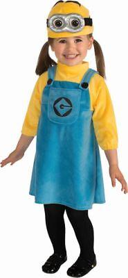 Rub - Ich unverbesserlich Kinder Kostüm Minion Mädchen - Kind Mädchen Minion Kostüm