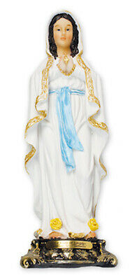 Mary Our Lady of Lourdes - Resin Florentine Statue - Religious Gift New - Lourdes Florentine Statue