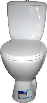 WC Toilette Tiefspüler von Cersanit Keramik Spülkasten Set Abgang senkrecht Neu