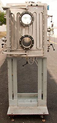 American Plasma Tech Evaporator Vacuum Chamber 22 X 27.5 X 20.5
