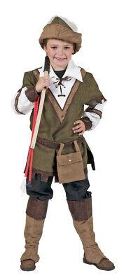 Robin Hood Kostüm für Jungen - Märchen Kanrveal Fasching Verkleidung Film