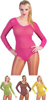 Neon Netz Body - Farbauswahl - Sexy Kostüm - 90er Rave Kostüm