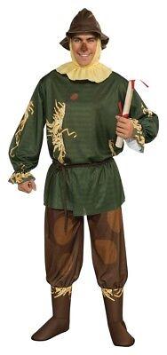 Vogelscheuche Erwachsene Herren-Kostüm Zauberer von oz Film Halloween (Erwachsene Zauberer Von Oz Halloween Kostüme)