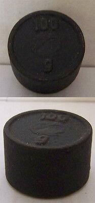 Altes Gewicht für Waage Handel Eisen 100 Gramm