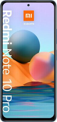 Xiaomi Redmi Note 10 Pro Glacier Azul Smartphone 6,67 Pulgada 128GB Quad-Kamera