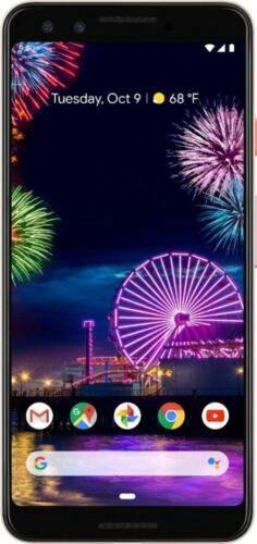 Brand New Google Pixel 3 64GB Unlocked Smartphone - Not Pink