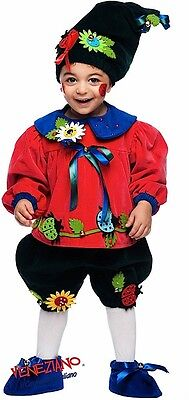 lung Baby Jungen Deluxe Blumentopf Gnome Kostüm Kleid Outfit (Baby Gnome Outfit)