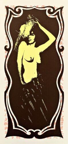 The Strokes Collectors HANDBILL Artist Mark Arminski