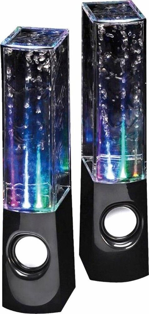 Water Dancing LED Speakers Light Show Water Fountain Multi C