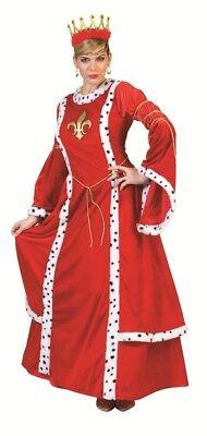 Königin Antonia Kostüm für Damen Langes Mittelalter Kleid Prinzessin - Prinzessin Kostüm Für Damen
