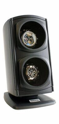 Versa Automatic Double Watch Winder - BLACK - OTS-G015-BLACK