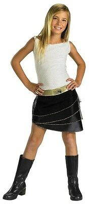 Miley Cyrus Halloween Dress Up (Hannah Montana Miley Cyrus Halloween Rock Pop Star Costume Size 7-8 BRAND)
