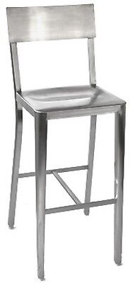 Restaurant Bar Stool Stainless Steel Wholesale Classic Style New Cafe Seating