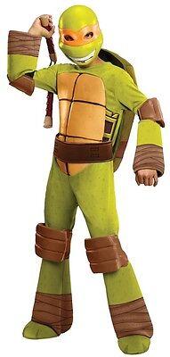 Teenage Mutant Ninja Turtles Michelangelo Deluxe Child Costume HALLOWEEN - Teenage Mutant Ninja Turtle Costume Michelangelo