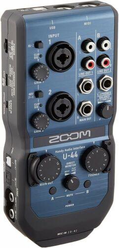 ZOOM Handy Audio Interface U-44