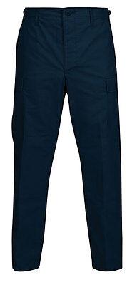 Military BDU Pants / Trousers - NAVY BLUE Cargo Pants - IRREGULAR - Navy Bdu Pants