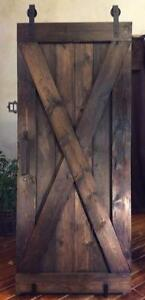 Barn Doors - Hardware, Glass Doors & Custom wood Doors