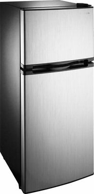 Insignia NS-CF43SS9 Top-Freezer Refrigerator - Stainless Steel
