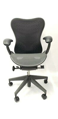 New Herman Miller Mirra 2 Home Office Chair - Black Graphite Fully Loaded Lumbar