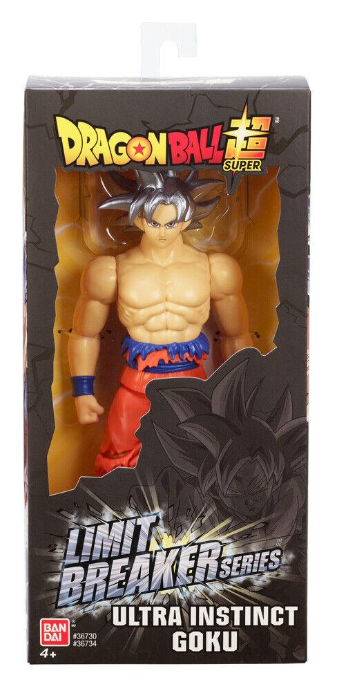 New Dragon Ball Super Ultra Instinct Goku Limit Breaker 12 inch Figure